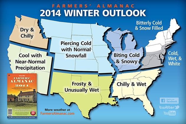 The Farmers Almanac Winter 2013