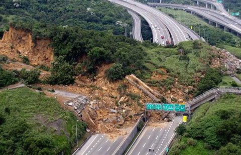 a look at the types of landslides and examples of major landslides Landslides take many different forms each of these types of landslides may involve rock, debris (mixed rock and definition and examples of solifluction in.