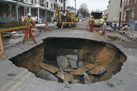 Does climate change effect sinkhole formation essay